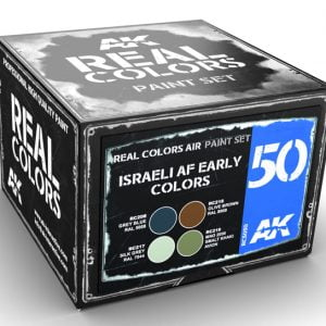 AK Interactive Israeli AF Early Colors Paint Set RCS050