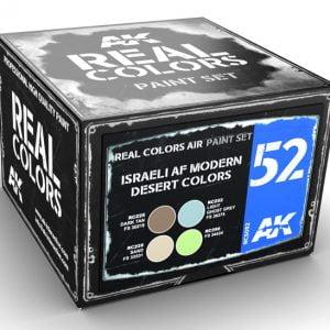 AK Interactive Israeli AF Modern Desert Colors Paint Set RCS052