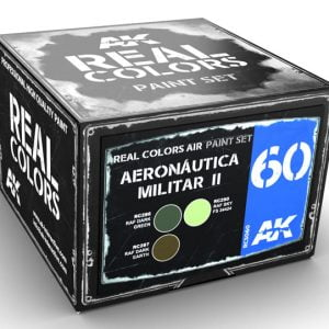 AK Interactive Aeronáutica Militar II Paint Set RCS060