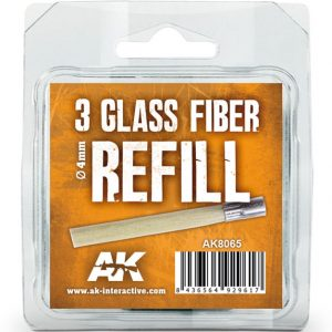 AK Interactive 3 Pack Glass Fibre Refill AKI 8065