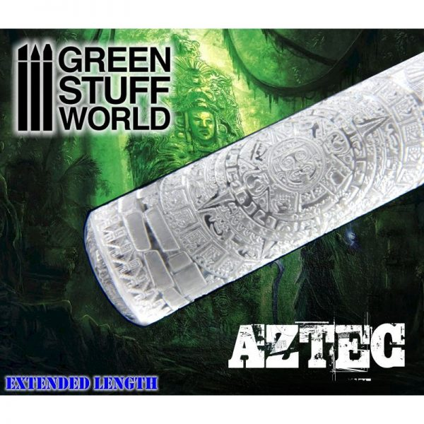 Rolling Pin AZTEC Green Stuff World 1397