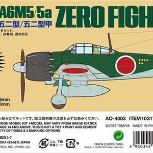 Tamiya 1/48 Mitsubishi A6M5 Zeke Zero Fighter Silver Plated TAM 10317