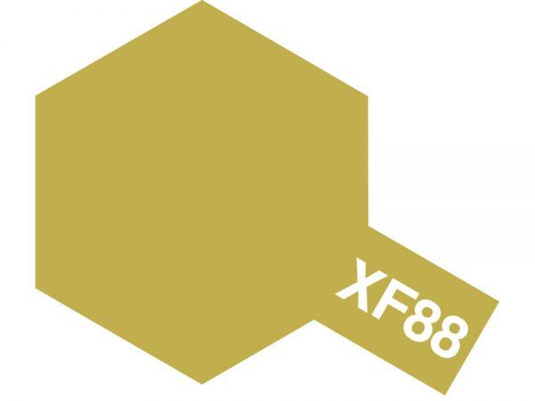 Tamiya Acrylic Paints XF-88 XF88 81789 Dark Yellow 2