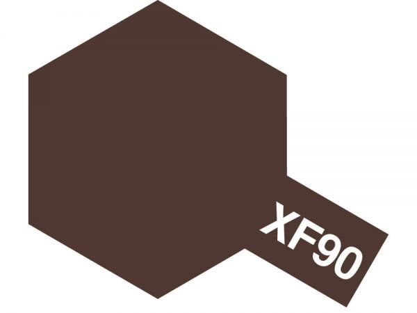 Tamiya Acrylic Paints XF-90 XF90 81790 Red Brown 2