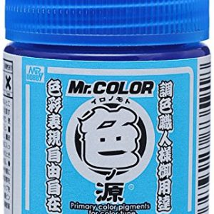 Primary Color Pigments for Mr Color Cyan CR1