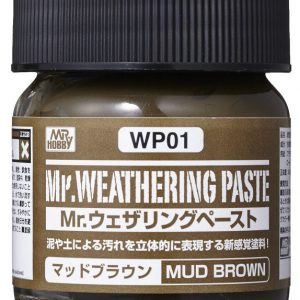 Mr Weathering Paste Mud Brown WP01