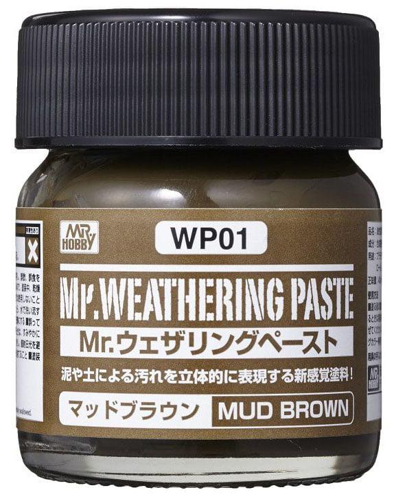 Mr Weathering Paste Mud Brown WP01