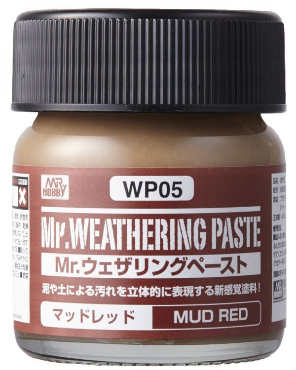Mr Weathering Paste Mud Red WP05