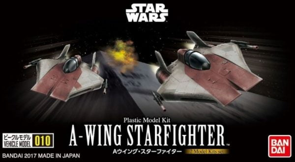 Bandai Star Wars A-Wing Starfighter Set 010 217623
