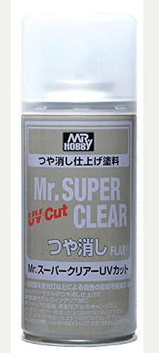 Mr Super Clear UV Cut Spray B523