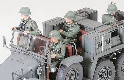 Tamiya Krupp Towing Truck with 37mm Pak 1/35 Scale 35259