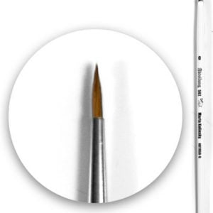 Marta kolinsky Brush Round 0 by Abteilung 502 ABT850-0