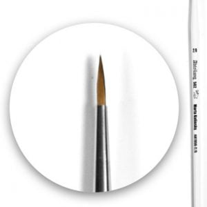 Marta Kolinsky Brush Round 00 by Abteilung 502 ABT850-00