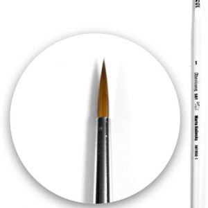 Marta Kolinsky Brush Round 1 by Abteilung 502 ABT850-1