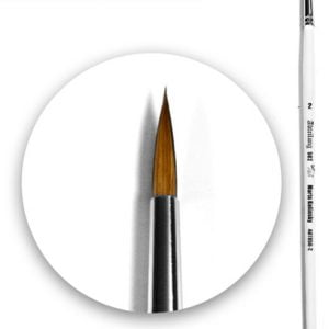 Marta Kolinsky Brush Round 2 by Abteilung 502 ABT850-2