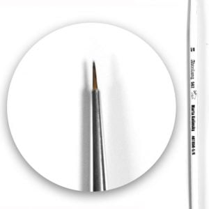 Marta Kolinsky Brush Round 5-0 by Abteilung 502 ABT850-5-0