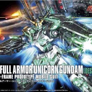 Bandai RX-0 Full Armor Unicorn HGUC Gundam Destroy Mode 189487