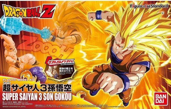 Bandai Super Saiyan 3 Son Goku Dragon Ball Z Figure-Rise Standard 209446