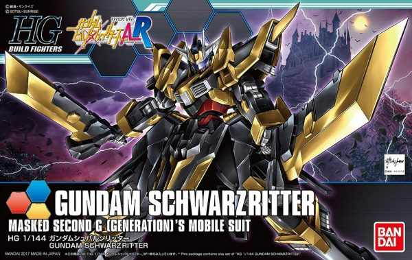 Bandai Schwarzritter Gundam HGUC 218384