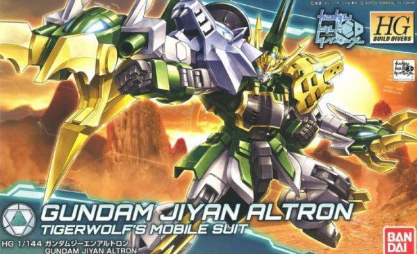 Bandai Jiyan Altron Gundam Build Divers HG 230356