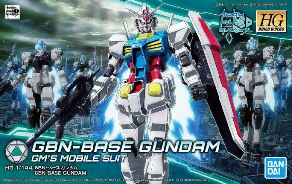 Bandai GBN-Base Gundam Build Divers HG 5055706