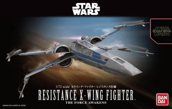 Bandai Resistance X-Wing Fighter Star Wars 202289