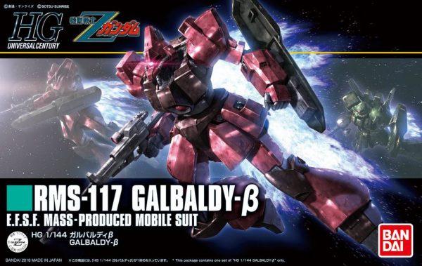 Bandai Galbaldy Beta Zeta Gundam HGUC 224024