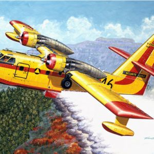 Heller CANADAIR CL-215 80373
