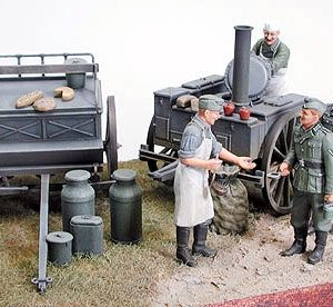 Tamiya German Field Kitchen Scenery Kit 35247