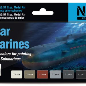 Vallejo Nuclear Submarines Paint set of 8 71611
