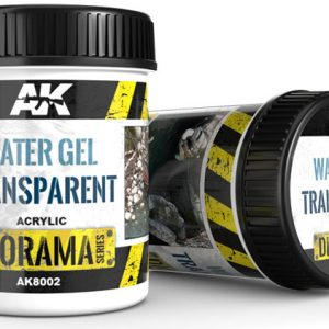 AK Interactive Water Gel Transparent 250ml AKI 8002