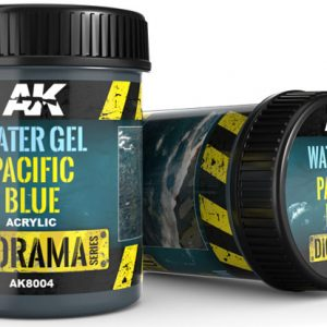 AK Interactive Water Gel Pacific Blue 250ml AKI 8004