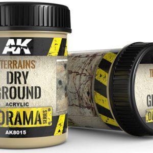 AK Interactive Terrains Dry Ground 250ml AKI 8015