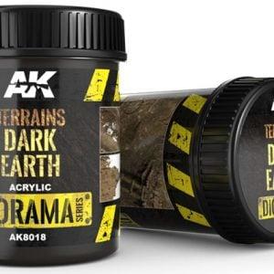 AK Interactive Terrains Dark Earth 250ml AKI 8018