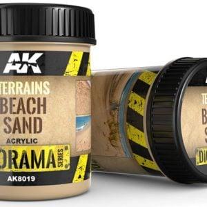 AK Interactive Terrains Beach Sand 250ml AKI 8019