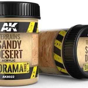 AK Interactive Terrains Sandy Desert 250ml AKI 8022