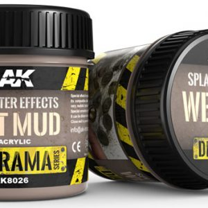 AK Interactive Splatter Effects Wet Mud 100ml AKI 8026
