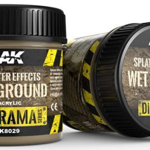AK Interactive Splatter Effects Wet Ground 100ml AKI 8029