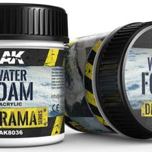 AK Interactive Water Foam 100ml AKI 8036