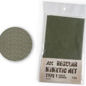 AK Interactive Camouflage Mimetic Net Field Green TYPE 1 AKI 8066