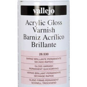 Vallejo Acrylic Gloss Varnish Spray 28530