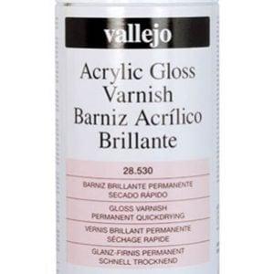 Vallejo Acrylic Gloss Varnish Spray 28530