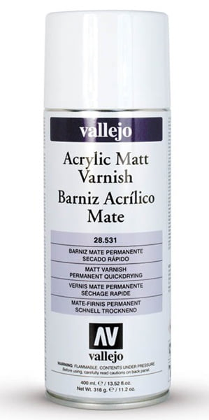 Vallejo Acrylic Matt Varnish Spray 28531