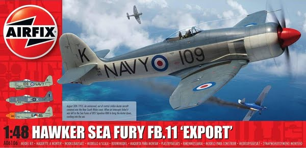 Airfix Hawker Sea Fury FB.11 Export Edition A06106