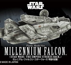 Bandai Star Wars The Empire Strikes Back Millennium Falcon 015 5055704
