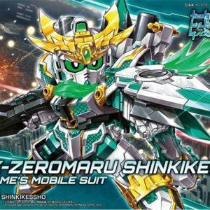 Bandai RX-Zeromaru Shinkikessho Gundam SD Build Divers