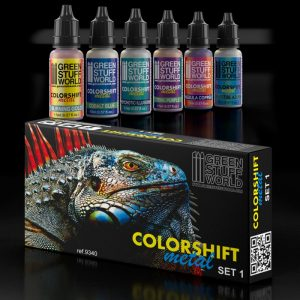 Chameleon Acrylic Paint Set 1 Metal Paints