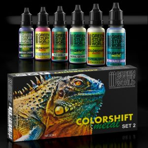 Chameleon Acrylic Colorshift Metal Paint Set 2