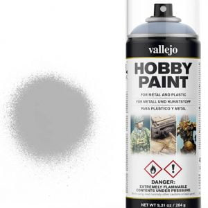 Vallejo Acrylic Grey Primer Spray 28011