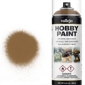 Vallejo Acrylic Leather Brown Spray 28014